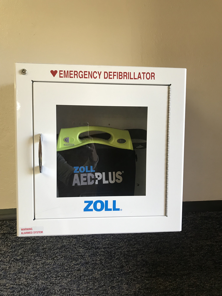 HS AED BY Cindy's office